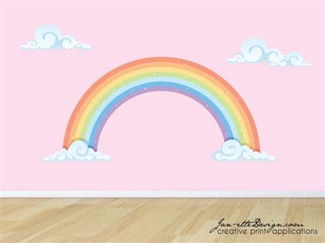 wall stickers rainbow best 25 rainbow wall ideas on rainbow room