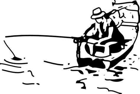 fishing boat silhouette clip art fishing boat clip art at clker vector clip art