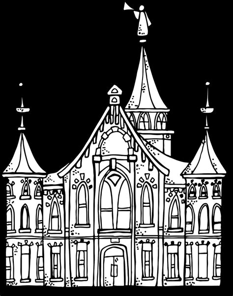 indianapolis temple coloring page temple coloring page free draw to color