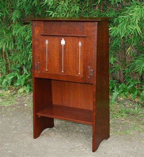 Harvey Ellis Desk by Voorhees Craftsman Mission Oak Furniture Replica Gustav