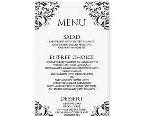 free word menu templates 25 best ideas about free menu templates on