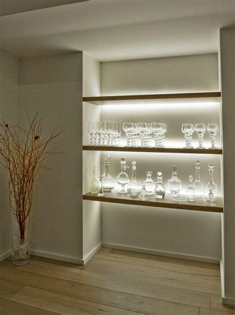floating shelves with lights underneath 248 best concealed lighting floating wall floating