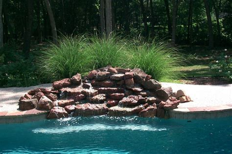 rock waterfalls for pools pool rock waterfall bullyfreeworld com
