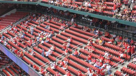 redbird club seats busch stadium section 250 rateyourseats
