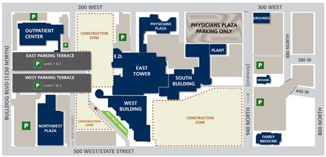 maps clinic contact us and maps utah valley hospital