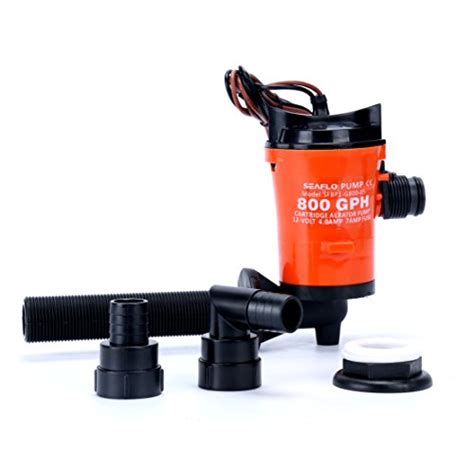 Livewell Plumbing Parts by Seaflo 12v 800gph Livewell Live Bait Tank Aerator Submersible Boat Bilge Ebay