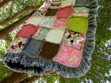 Quilting Edges by Ruffly Edges On Rag Quilt Quilts