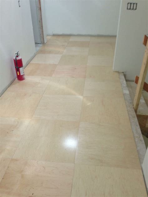 ply wood flooring ideas received a simple floor
