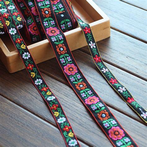 Ribbon Handmade - 1 5cm 3cm width 10 yards lot ethnic style handmade