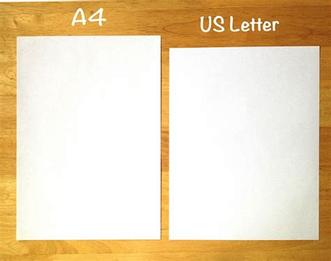 Us Letter Size How To Format Cover Letter A4 Letter Template