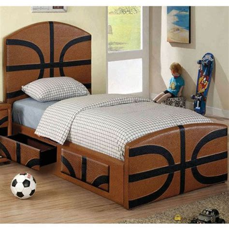 youth bed details about sports themed designed youth bed frame
