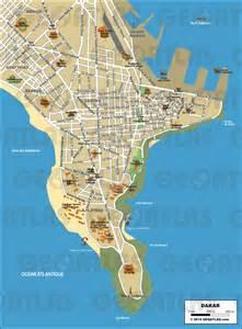 Geoatlas city maps dakar map city illustrator fully modifiable