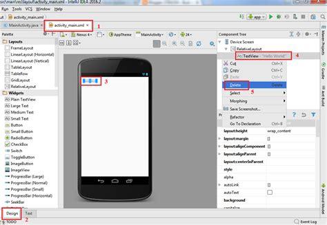 cara membuat file xml android belajar java untuk android 8 cara membuat hello world