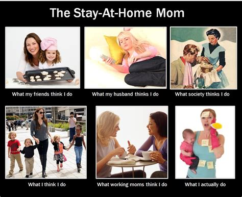 Working Mom Meme - when being a stay at home mom sucks kinda crunchy