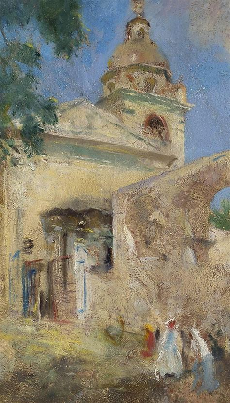 charles webster hawthorne   cathedral painting