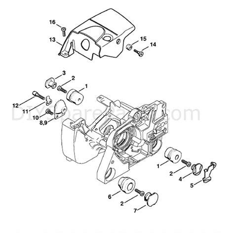 stihl 024 av parts diagram stihl ms 381 chainsaw ms381 n parts diagram av system