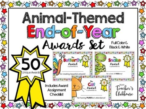 Awards And Rewards Resources From Teacher S Clubhouse
