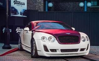 Auto Bentley F8 Fast And The Furious Cars On Display At Universal