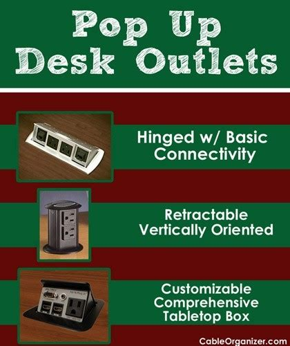pop up desk outlet which desk outlet is right for you