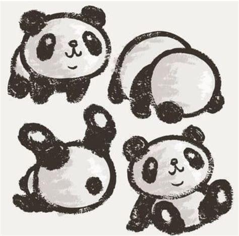 doodle panda panda drawing image 4166663 by tschissl on favim