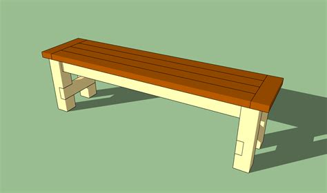 Simple Outdoor Bench Seat Plans Pdf Woodworking