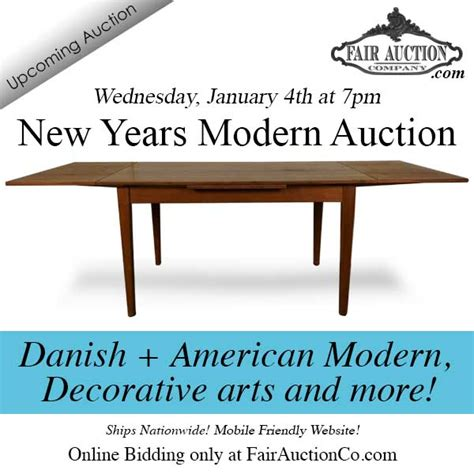 what years are considered mid century 353 lots happy new years mid century modern auction hibid auctions