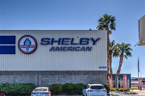 Cobra Auto Las Vegas by Shelby American Inc And Carroll Shelby Heritage Museum In