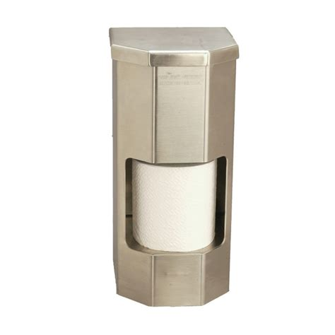 toilet paper dispenser vandal resistant two roll vertical toilet paper holder