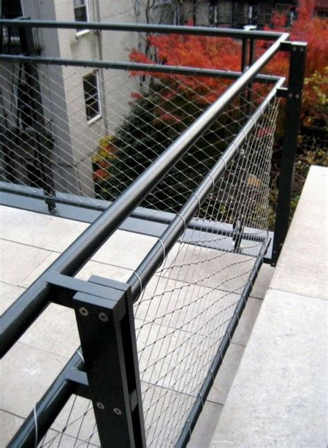 Wire Banister by 20 Creative Deck Railing Ideas For Inspiration Hative