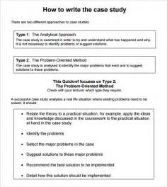 How To Write A Case Study Research Paper Case Study Template 6 Download In Pdf Psd