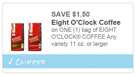 Printable Eight O Clock Coffee Coupons | extreme couponing mommy cheap eight oclock coffee at tops