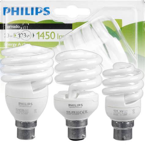 Tornado Philips 12watt Cool Daylight philips tornado energy saving 12w 15w 23w b22 bayonet cap