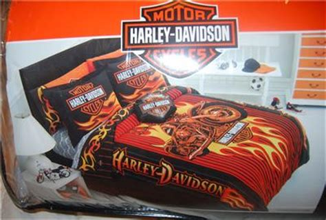 harley davidson comforter set harley davidson full queen comforter sheet set new 1st ebay