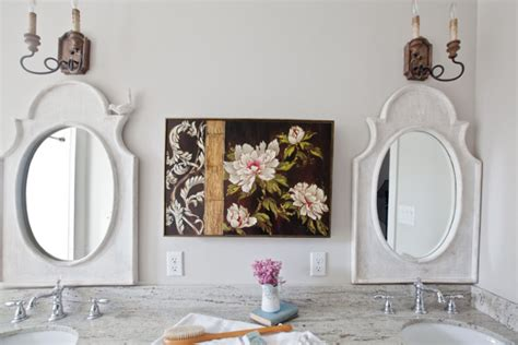 cedar hill farmhouse light fixtures conquer common bathroom decorating problems cedar hill