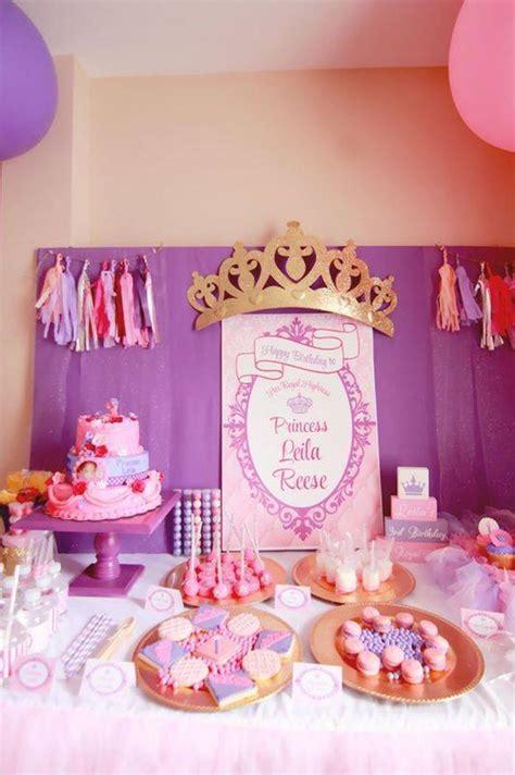 Birthday Decorations Ideas by Kara S Ideas Princess Planning Ideas Supplies