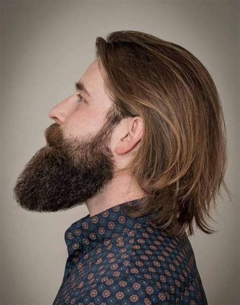 long men s haircut with simple styling behind the ear 50 stately long hairstyles for men