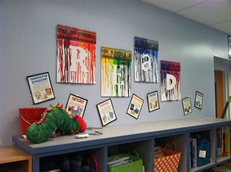 wall decor for library 17 best images about crayon art on pinterest melted