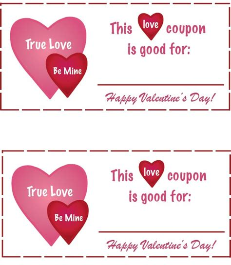 free online printable love coupons valentines day coupons for boyfriend 2017 2018 best