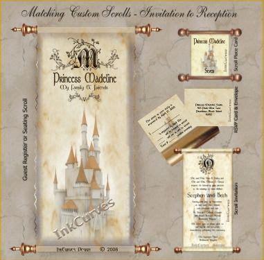 renaissance scroll wedding invitations renaissance wedding theme idea s invitation wording