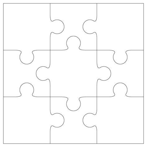 single puzzle template de 25 bedste id 233 er inden for puzzle template p 229