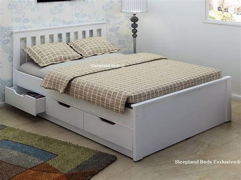 white bed with storage 25 best ideas about double beds on pinterest sofa for room bunk bed with desk and