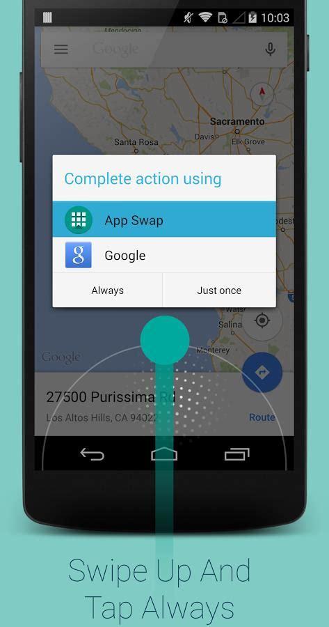 android swipe gesture app drawer android cos 232 come funziona traduzione effetti transizione icone