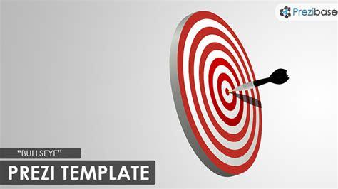 bullseye prezi template prezibase