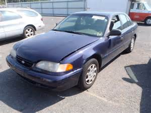 Hyundai Sonata 1995 Kmhcf24f4su384295 Bidding Ended On 1995 Blue Hyundai