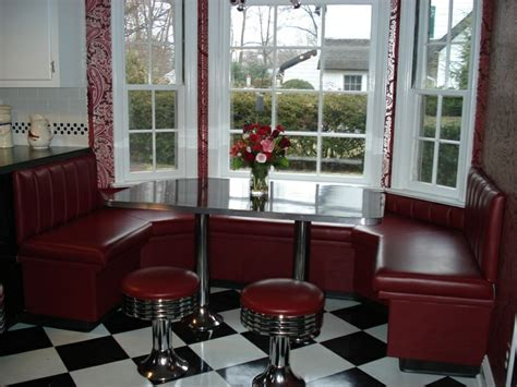 Marian's Kitchen Window Booth: Kitchen Seating, Bar Stools