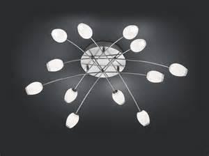 wandleuchten designer leuchten bank tulip led deckenleuchte 7648 12 92 leuchtenking