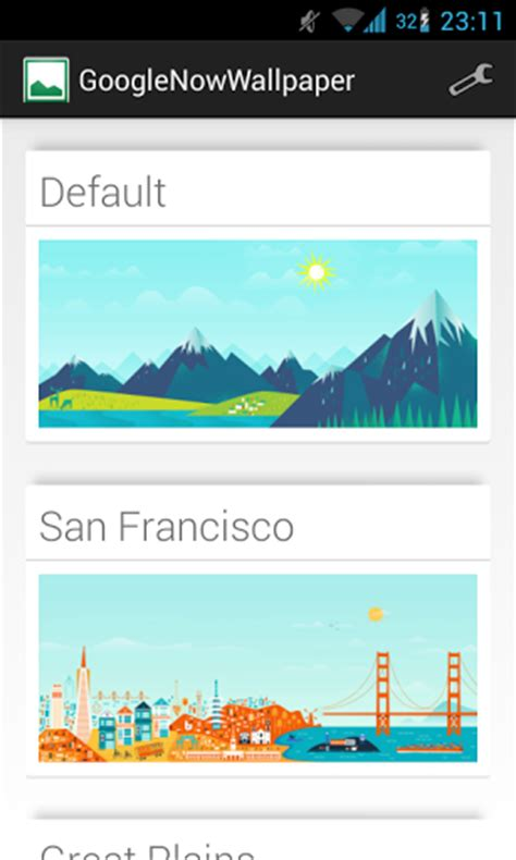 google now wallpaper app new app brings google now wallpapers to any compatible