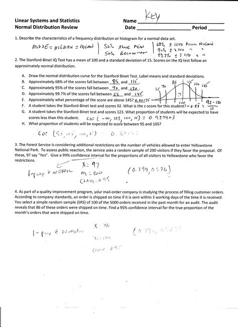 Distribution Worksheet by 100 Distribution Worksheet Draw A Normal