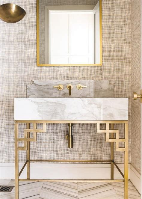 Bathroom Vanity Light Fixtures Ideas for the home 6 powder rooms that make a statement hope