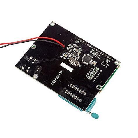 digital capacitor arduino sainsmart digital transistor tester capacitor esr inductance resistor lcr meter npn pnp